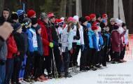 Первенство области по лыжным гонкам среди ДЮСШ 2015