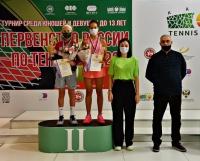 «Серебро» обнинской теннисистки на первенстве России!