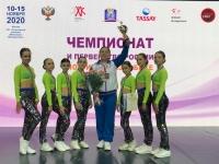 Обнинские грации – серебряные призёрки первенства России по фитнес-аэробике!