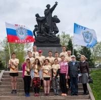 14 студентов КФ МГТУ им. Баумана преодолели 200 километров «Эстафеты Победы»