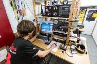 В скоростной радиотелеграфии победили гости