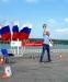 Площадка комплекса ГТО принимала всех желающих на соревнованиях по гребному спорту имени В. Иванова
