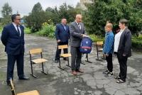С днём знаний школьников Калужской области поздравил министр спорта региона!