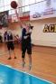 Медики играли в уличный баскетбол