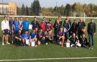 В футболе победила команда министерства спорта!