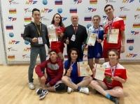 Пять медалей калужан во Владикавказе!