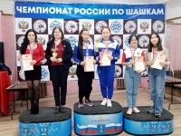 «Серебро» калужских шашисток на чемпионате страны!