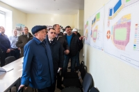 Строительство Дворца спорта в Калуге идет по графику