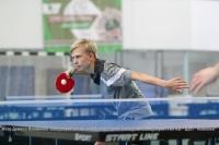 В настольный теннис играли в «Труде»
