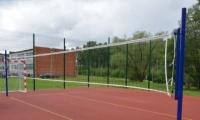 Новую универсальную спортплощадку открыли на территории поселковой школы!