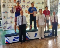 Наши гиревики завоёвали в Крыму восемь медалей!