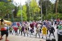 В Обнинске прошла всероссийская акция «Зарядка с чемпионом»