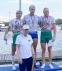 Семь медалей калужских гребцов на чемпионате России в Крылатском!