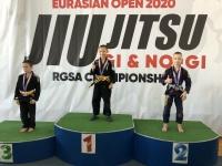 Шесть медалей калужан на чемпионате Евразии!