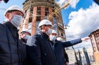 Строительство Дворца спорта в Калуге планируется завершить до конца 2020 года