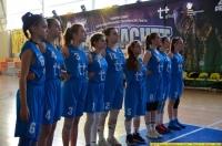 15-летние баскетболистки играли в Думиничах