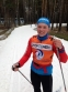 Лыжница Дарья Старожилова восьмая в Красногорске
