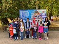 Акция «Шагаем по стране вместе с ГТО» в Калуге