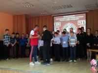 Торжественное награждение учащихся СОШ №8 почетными знаками ГТО