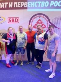 Шесть медалей калужских силачей в Суздале!