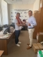 Валерий Кобелев вручил знаки отличия ГТО членам федерации прыжков на лыжах с трамплина и лыжного двоеборья
