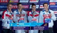 Михаил Вековищев – вице-чемпион Европы в смешанной эстафете