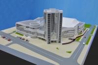 Из федерального бюджета выделен миллиард рублей на строительство Дворца спорта в Калуге