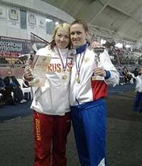 Ксения Мирошниченко завоевала «золото»