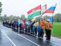 В Малоярославецком районе открыли спортивную площадку с футбольным полем