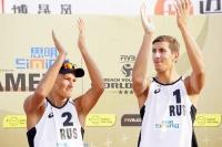 Обнинцы вошли в историю пляжного волейбола