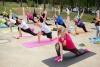 IV международный день йоги прошел в Калуге