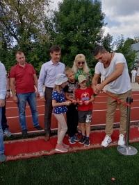 В День физкультурника жителям Малоярославца подарили… стадион!