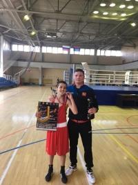 В Подольске обнинский боксёр завоевал путёвку в Анапу!