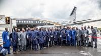 Сборная Сенегала прилетела в Калугу для участия в чемпионате мира по футболу
