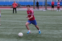 В футбол играли будущие «профи»