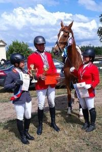 «Серебро» калужских всадников на чемпионате России