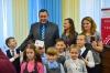 Дети получили знаки отличия ГТО из рук заслуженного мастера спорта
