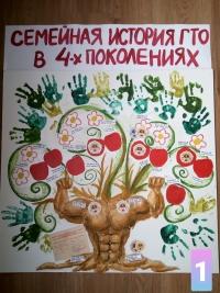 Определены победители выставки-акции «Семейная история ГТО»