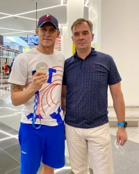 «Серебро» олимпийского Токио у обнинца Михаила Вековищева!