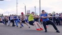 Сельские спортивные Игры прошли в Малоярославце