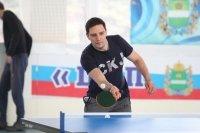 Медики играли в пинг-понг